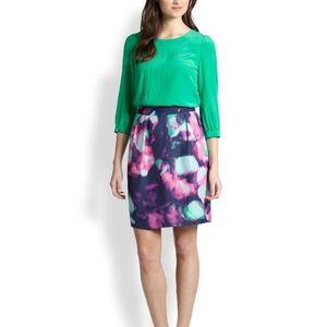 NEW Kate Spade Barry Watercolor Skirt Tie Dye 8